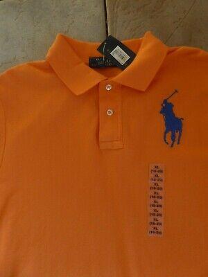 Designer RALPH LAUREN Orange Polo T-Shirt (Chest 38