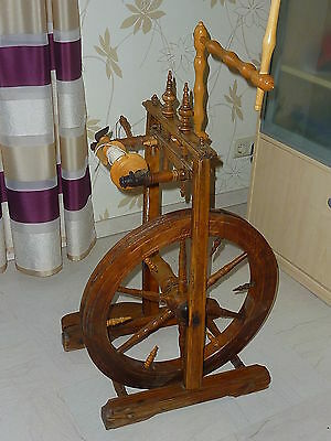 Spinnrad alt 1900 Antik