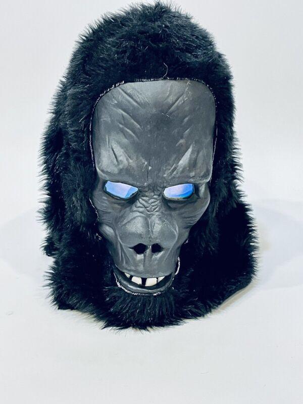 Vintage Ape Halloween Mask King Kong Jungle Beast Gorilla Monkey Hologram Eyes