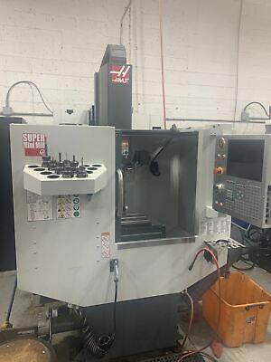 Haas Super Mini Mill 2018 - 15000 Rpm P-cool Wips High Speed Machining