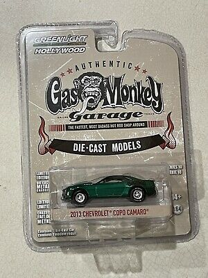 Greenlight GREEN MACHINE Gas Monkey Garage Die Cast 2013 Chevrolet Copo Camaro
