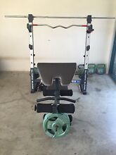 Weight bench & bar Durack Brisbane South West Preview