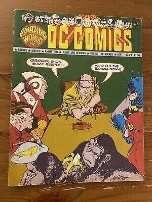 AMAZING WORLD Of DC COMICS MAGAZINE #8 1975