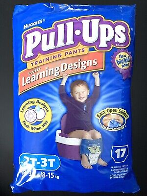 EXTREMELY RARE SEALED Vintage 2005 Huggies TOY STORY Pull Ups 2T-3T - 17 CT