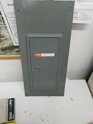 Federal Pacific Fpe Stab Lok Circuit Breaker Panel Box Cover Model Lx116-24