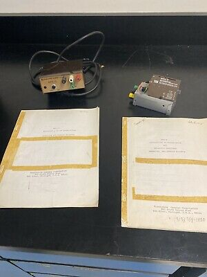 Transidyne General Differential Preamp Minivolt Headstage With Power Supply