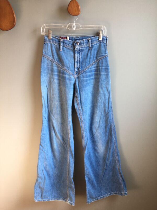Vintage Landlubber Jeans Wide Leg Bell Bottoms Size 11L