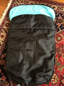 Universal infant car seat sleeping bag style cover