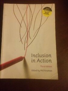 Inclusion in Action Text book Beenleigh Logan Area Preview