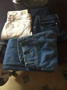 Ladies garbage bag of clothes for sale