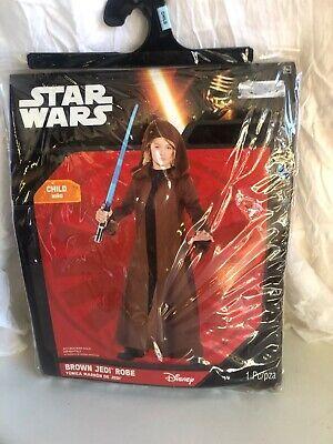 Star Wars Child Disney Brown Jedi Robe size - Brown Robe