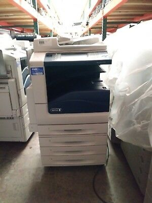 Rental - Xerox Workcentre 7830 Color Printer Copier Scanner Mfp Low Meter