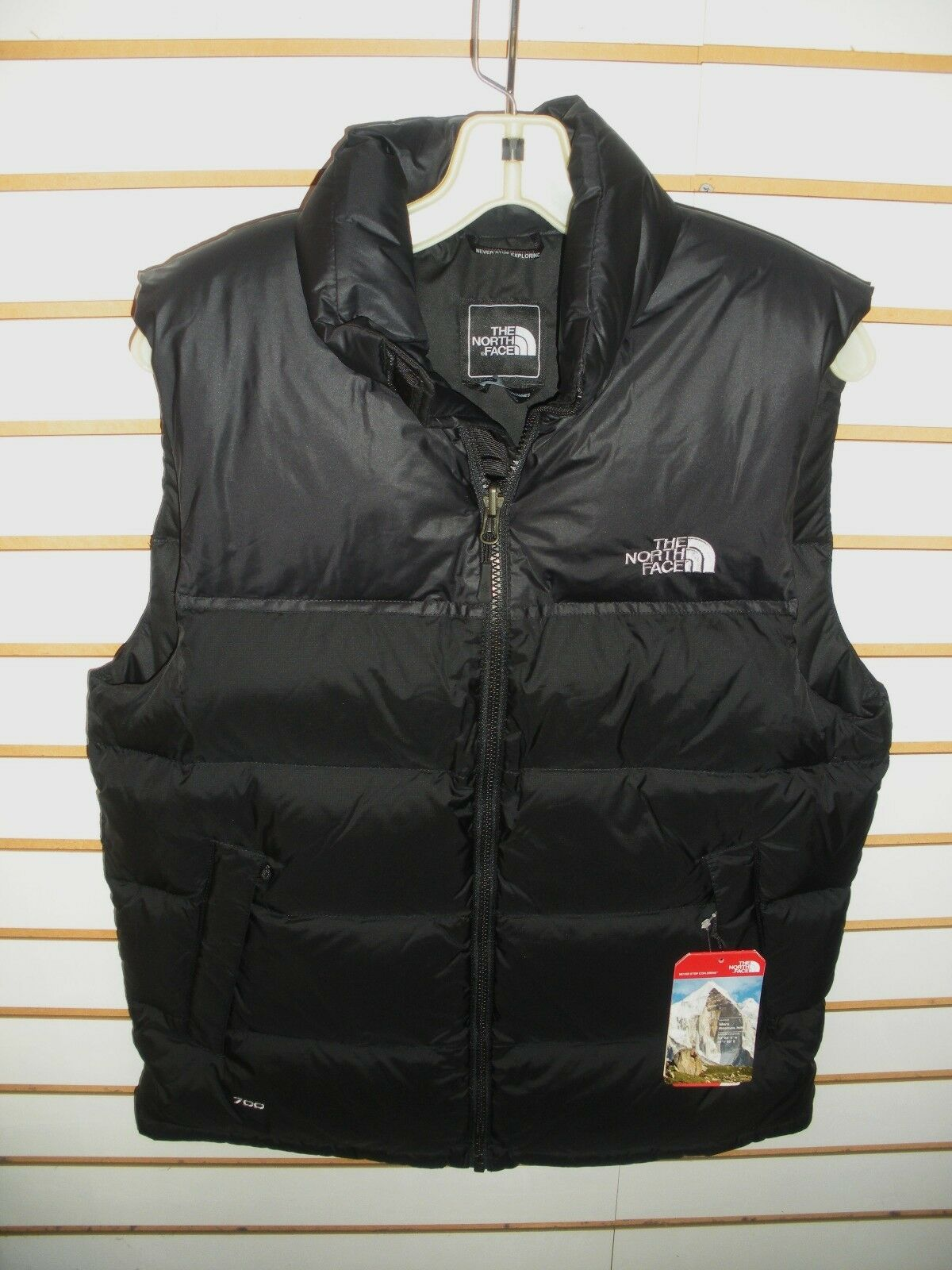 THE NORTH FACE MENS  NUPTSE 700 FILL DOWN VEST- JACKET-C760-