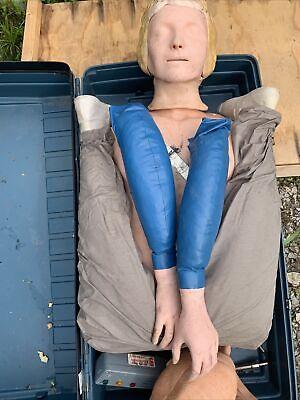 Laerdal Recording Resusci Anne Full Body First Aid Cpr Training Manikin