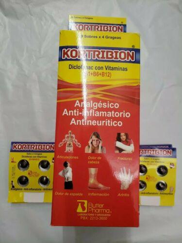 KORTRIBION VITAMINADO 80 pastilla  20 Packs x 4 Pills *** ORIGINAL***