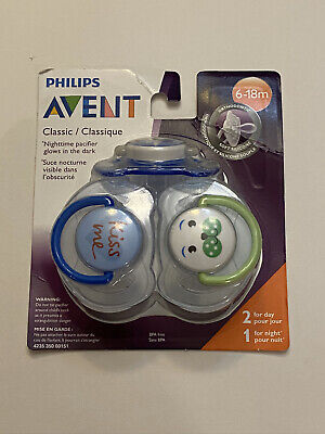 Philips Avent Pacifier Pack Of 3 / 6-18 Months