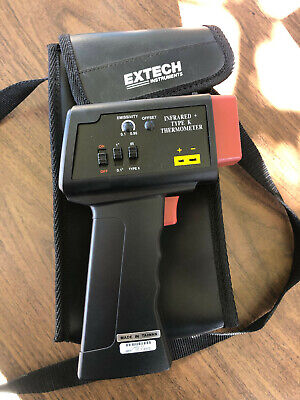 Extech 42525 Handheld Infrared Thermometer K Type Probe
