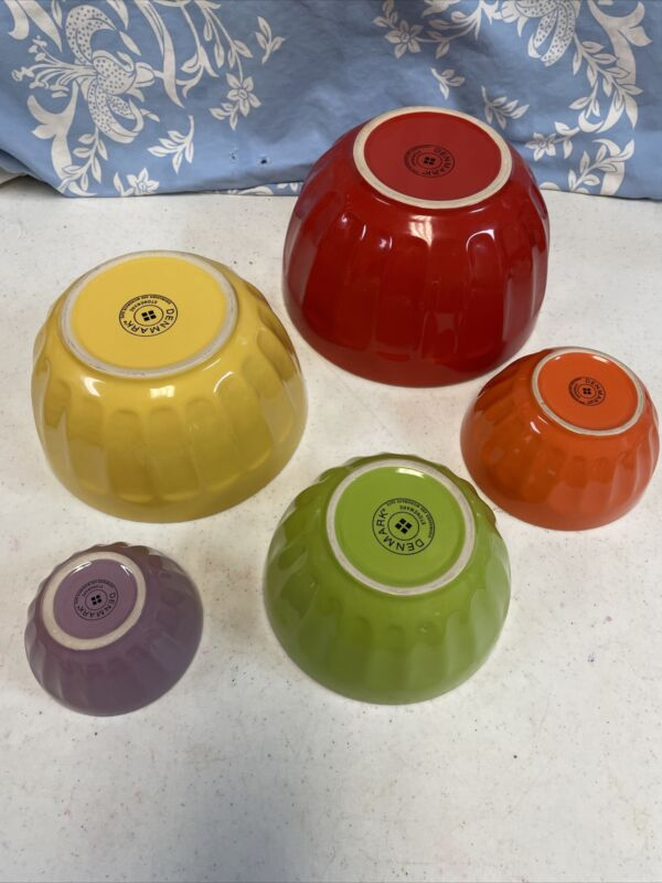5 Tabletops Gallery Denmark Mixing Bowl Stoneware Nesting Bowls