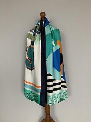 Pierre-Louis Mascia pure Silk Modal scarf wrap 100% authentic original DEFECT