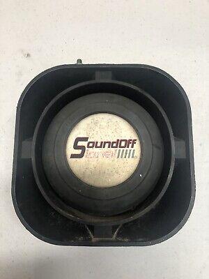 Soundoff Signal Siren Speaker Wmounting Bracket 100 Watt Used Sound Off Signal