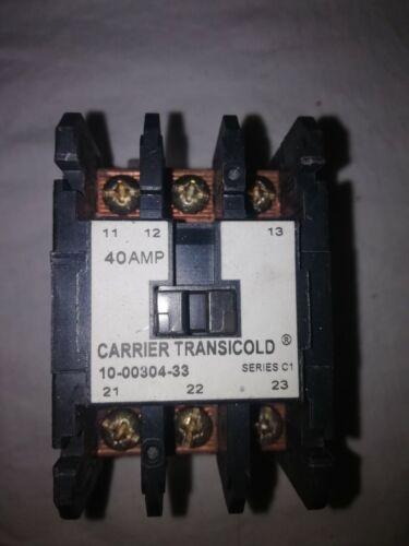 Carrier transicold 10-00304-33 CONTACTOR COMPRESSOR 24V COIL 50-60HZ 40 AMP 3 PO