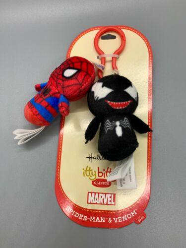 Hallmark Itty Bittys Clippys Marvel Spider-Man & Venom NWT