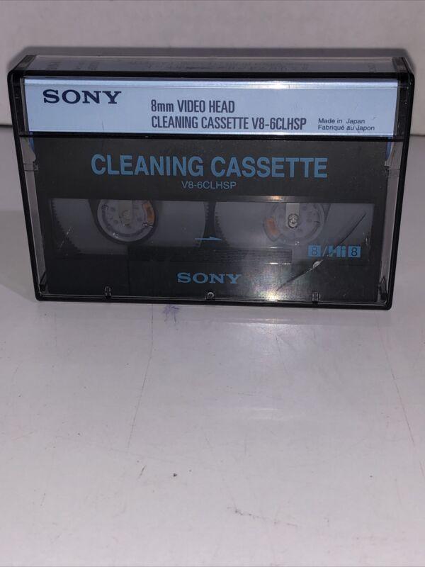 SONY 8MM CLEANING CASSETTE V8-6CLHSP