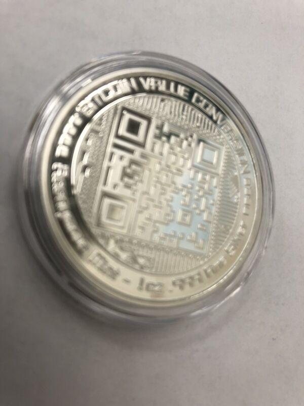 Bitcoin Silver Coin