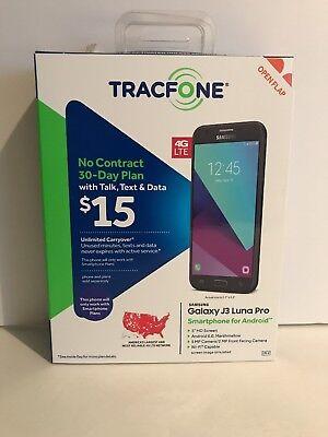 TracFone - Samsung Galaxy J3 Luna Pro 4G LTE with 16GB Memory Prepaid Cell Ph...