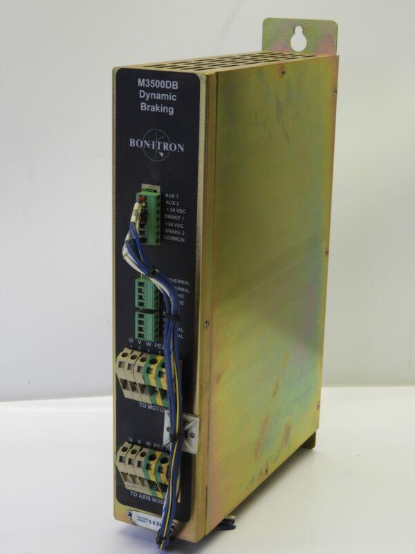 Bonitron M3500DB-H03B Dynamic Braking360/480 VAC 32A Used Working