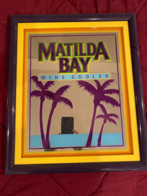 Matilda Bay Vintage Wine Cooler Mirror Sign