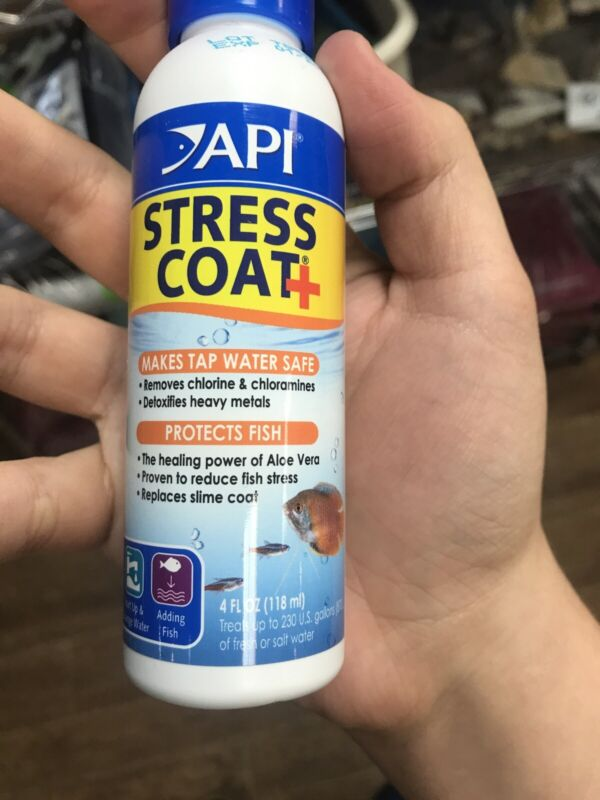 New 2020 API Stress Coat Water Conditioner For Aquarium Safe Protects Fish Free