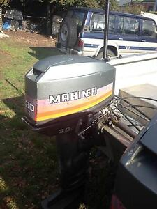 twin outboard Mariner 30hp Lindisfarne Clarence Area Preview