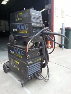 Mig Welder Uni Mig 390S with 24 meter remote feed 390 Amps Brooklyn Park West Torrens Area Preview