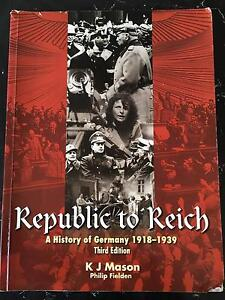 Republic to Reich - A History of Germany******1939 Seaforth Manly Area Preview