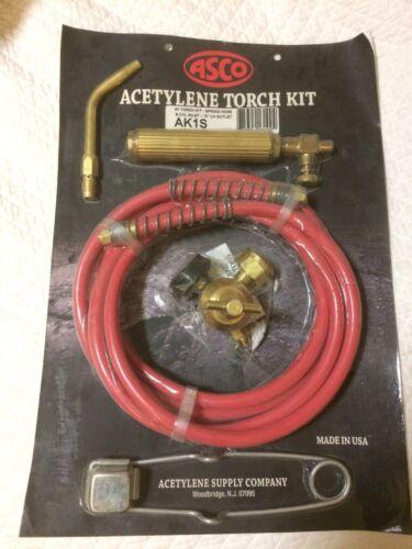 ASCO AK1S Acetylene Torch Kit - BRAND NEW
