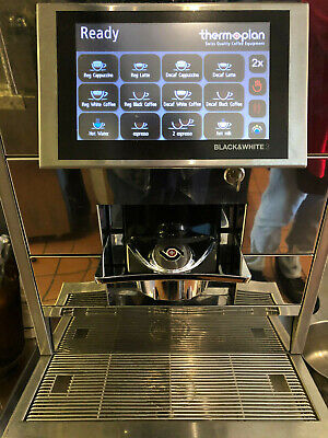 Thermoplan Black White 3 Ctm Commercial Super Automatic Espresso Machine