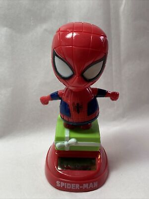 New Solar Powered Dancing Toy Bobble Head Christmas/Birthday Spider-Man On Gift