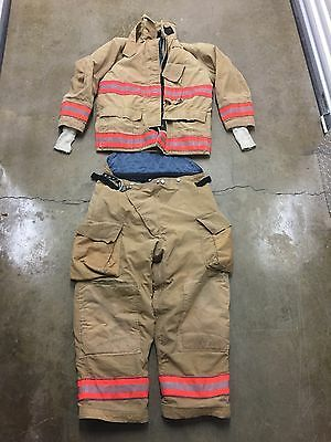 Globe Bunker Gear Set Turnout Gear Jacket Pants Many Sizes No Cut Out