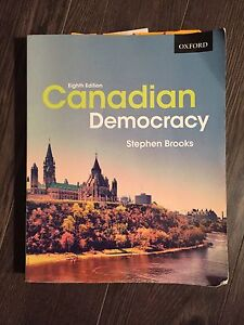 Intro to Canadian Government Textbook BEST DEAL