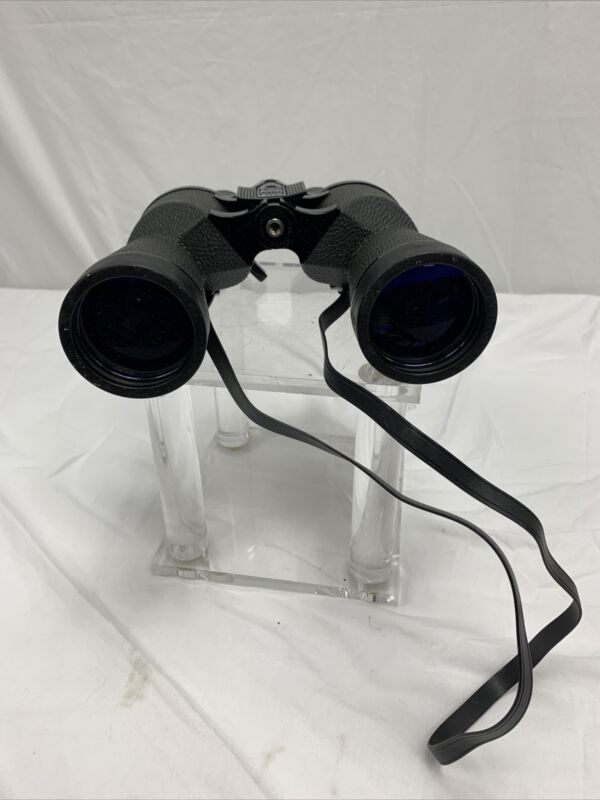 Bushnell Binoculars 8-24 Power 50mm Insta-Focus Zoom Black No case