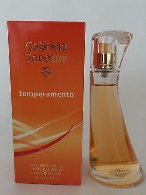 Temperamento by Gabriela Sabatini Perfume Women 1.7oz  Eau de Toilette Spray for sale  West Covina