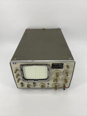 Hewlett Packard Hp 3580a Spectrum Analyzer And Tracking Generator