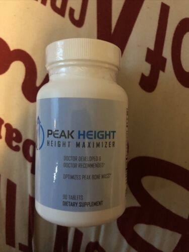 Peak Height Height Maximizer Optimizes Peak Bone Mass 90 Tablets