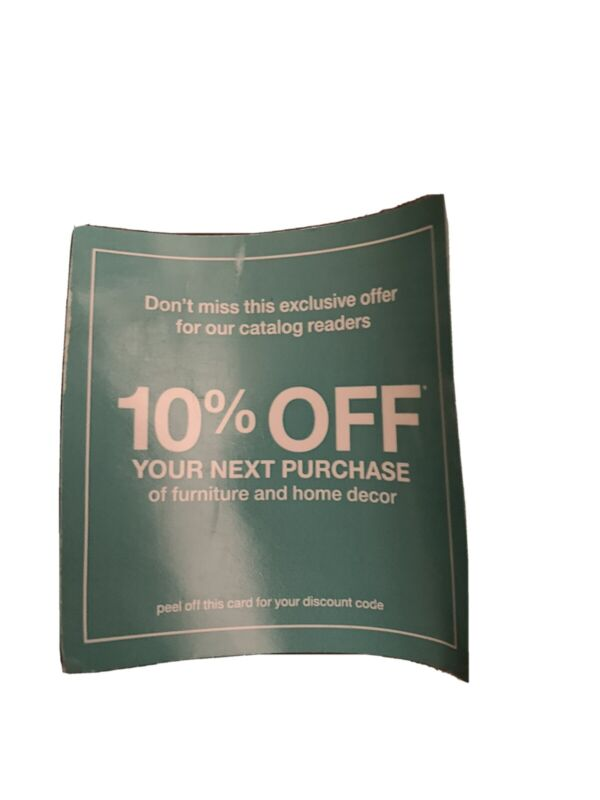 10% Off HOME DEPOT Furniture & Home Decor Online Purchase Expires 8/24/21