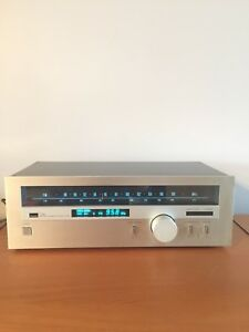 Vintage sansui t-80 am/fm stereo tunner New LED lights