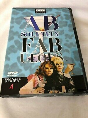 ABSOLUTELY FABULOUS COMPLETE SERIES 4 DVD