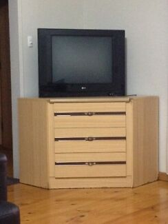Tv with cabinet.  Woodville Park Charles Sturt Area Preview