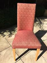 Upholstered Dining Chairs x6 Hampton Bayside Area Preview