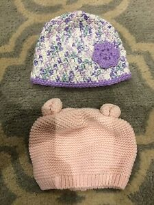 2 Knit Hats from Baby Gap